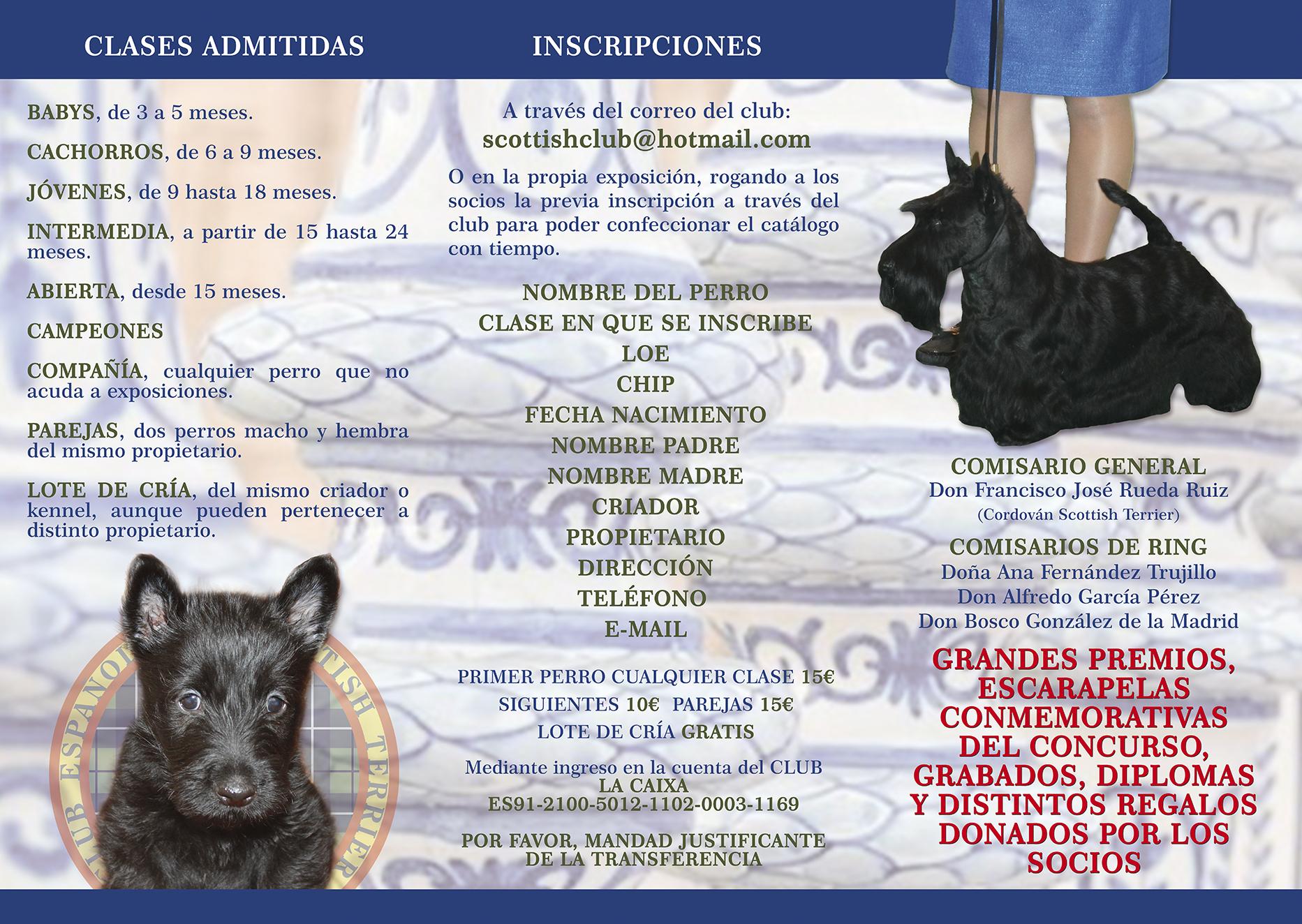 III Concurso Monografico Sevilla cara B